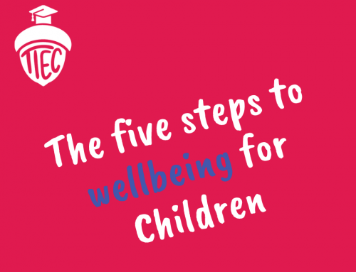5 steps to wellbeing for children